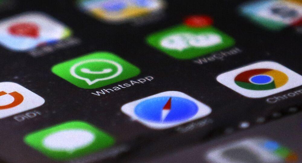 Logotipo do WhatsApp no meio dos de outros aplicativos