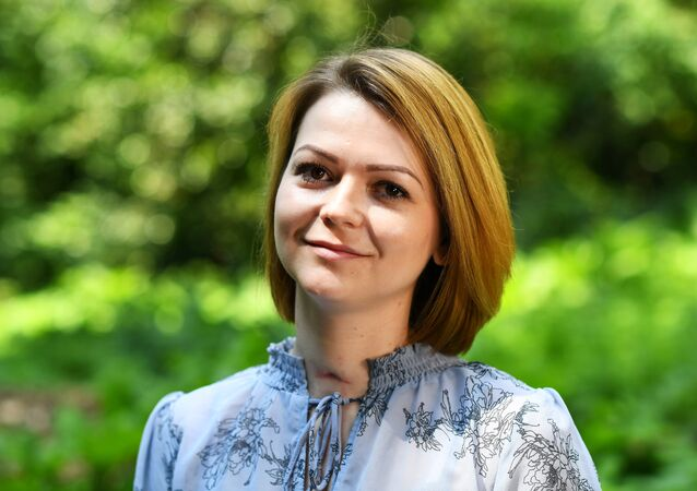 Yulia Skripal, filha do ex-espião russo Sergei Skripal, fala com a Reuters, em Londres, em 23 de maio de 2018
