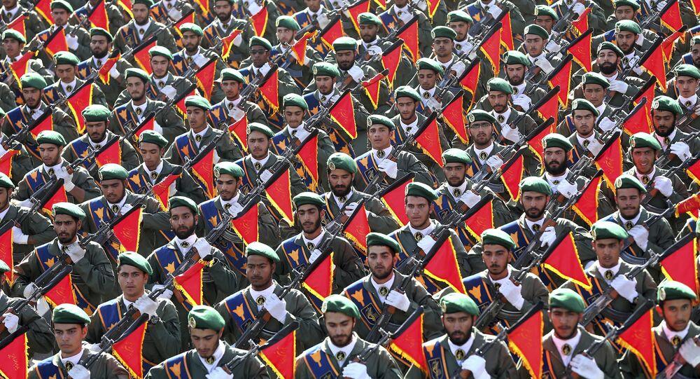 Tropas da Guarda Revolucionária do Irã