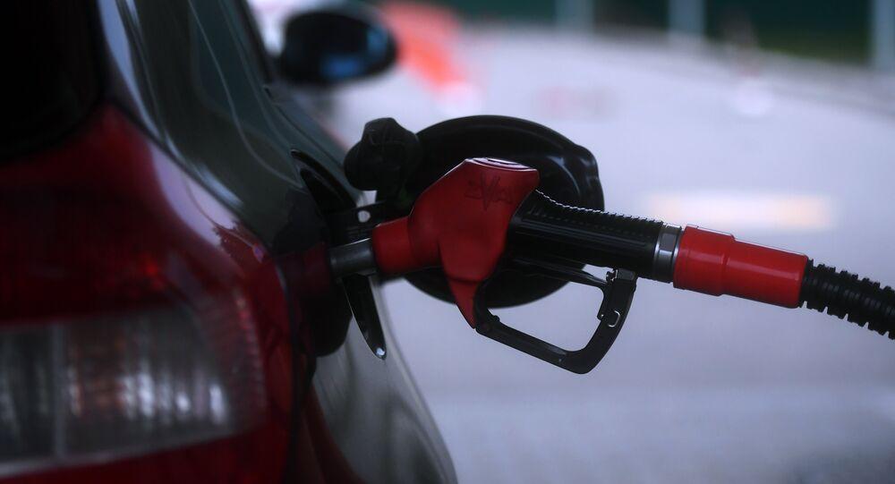 Posto de gasolina, imagem referencial