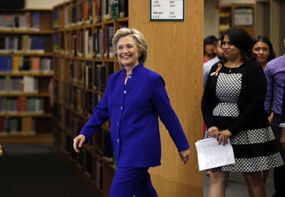 Hillary Rodham Clinton, candidata à Presidência de 2016 nos EUA.