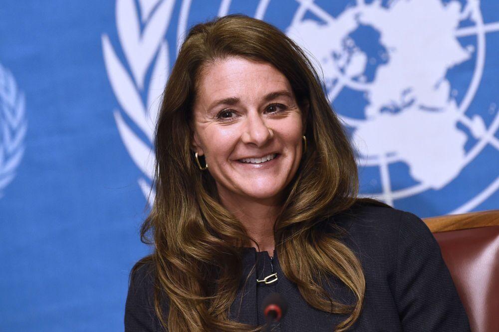 Melinda Gates - co-presidente da Fundação Bill & Melinda Gates, uma das mais poderosas organizações filantrópicas do mundo que está trabalhando na batalha contra uma série de doenças.