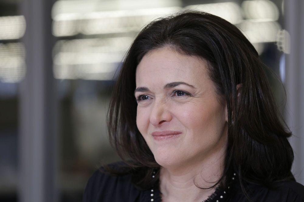 Diretora de Operações do Facebook Sheryl Sandberg.