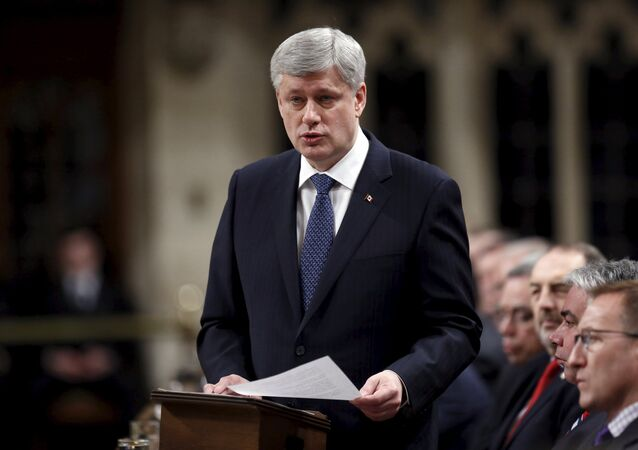 Primeiro-ministro do Canadá, Stephen Harper