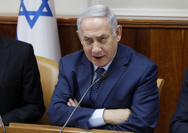 Primeiro-ministro de Israel, Benjamin Netanyahu
