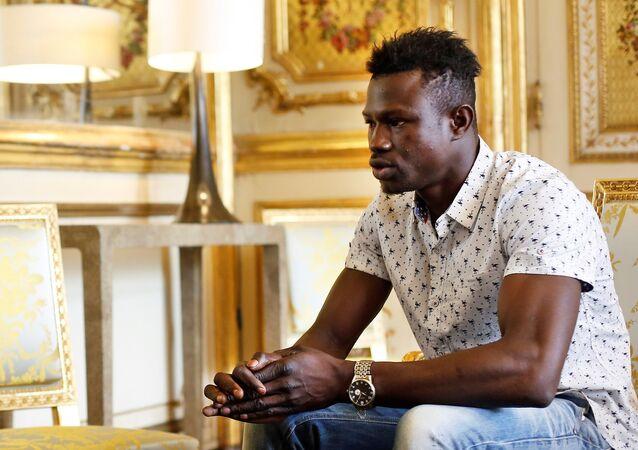 Malinês Mamoudou Gassama que salvou criança em Paris