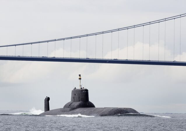 Submarino nuclear russo Dmitry Donskoi