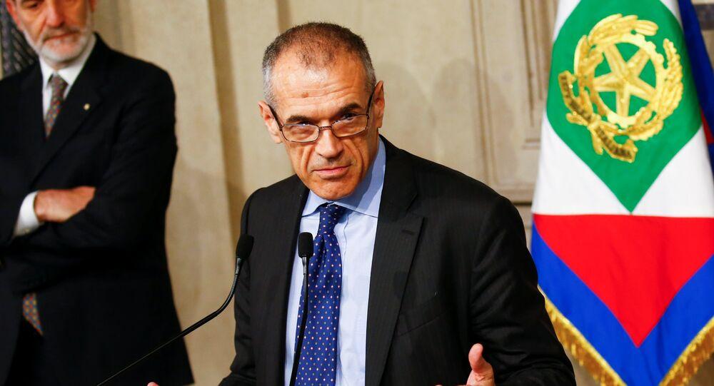 Ex-funcionário do FMI Carlo Cottarelli