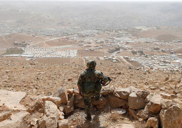 Soldado libanês (foto de arquivo)