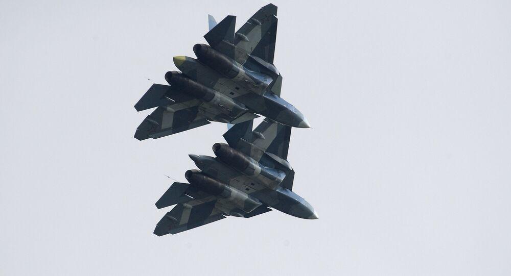 Caças russos Su-57