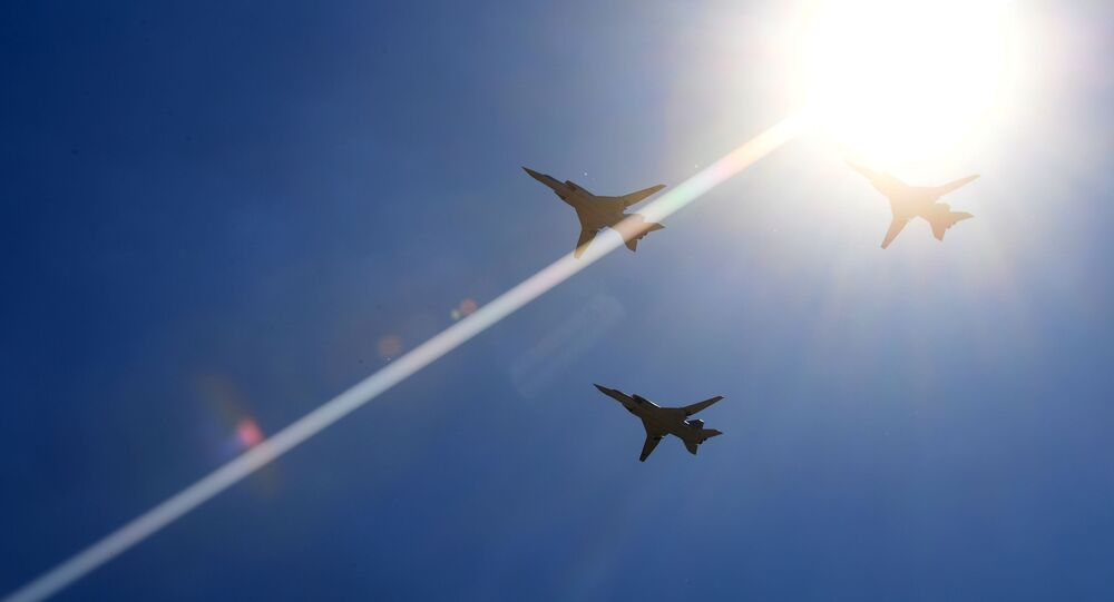 Aviões Tu-22M3 (foto de arquivo)