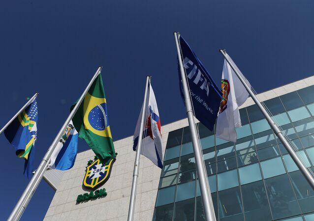 Sede da CBF, no Rio de Janeiro