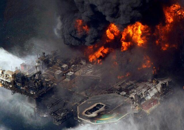 Desastre no Golfo do México
