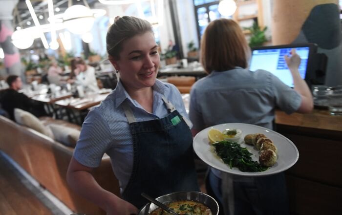 Restaurante Syrovarnya em Moscou