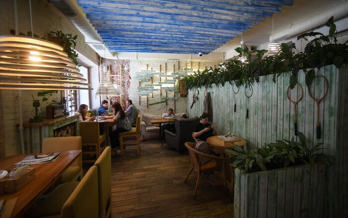 Restaurante Ukrop em São Petersburgo