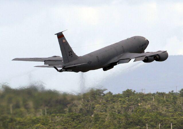 Avião da Força Aérea dos EUA KC-135 Stratotanker