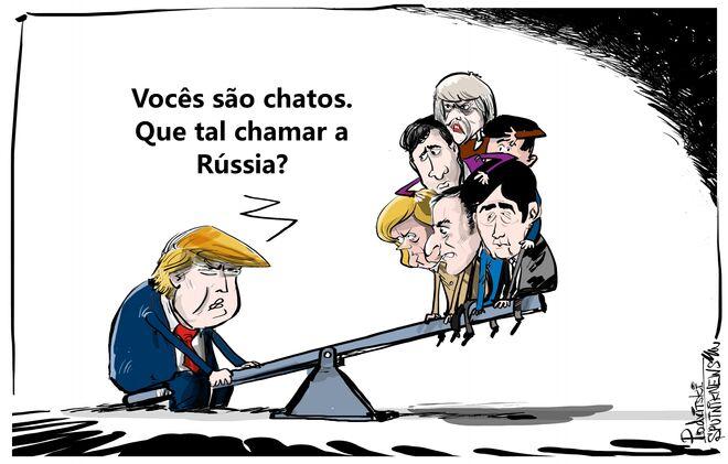 Trump e suas saudades da Rússia