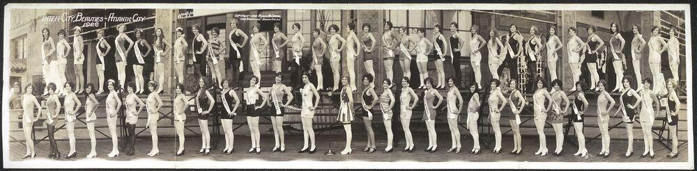 Participantes do concurso Miss América em 1926