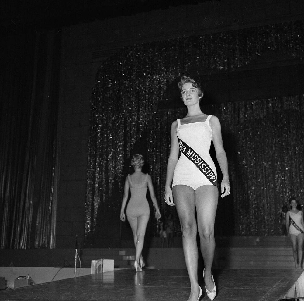 Participantes do concurso Miss América em 1959