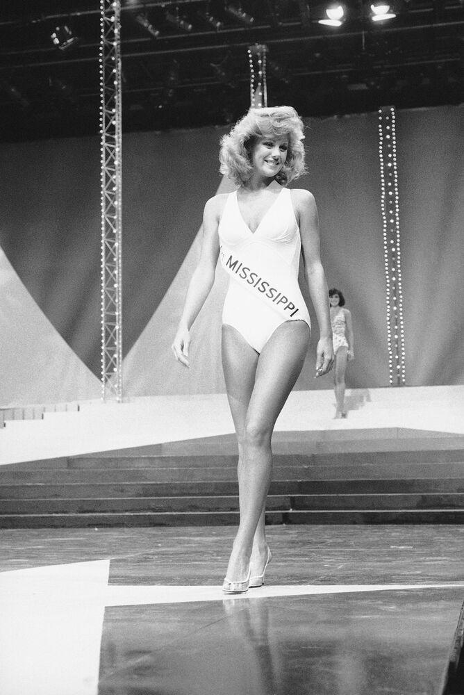 Susan Akin, participante do concurso Miss América em 1985