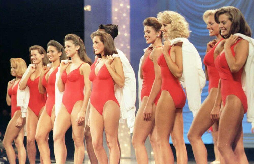 Finalistas do concurso Miss América em 1995