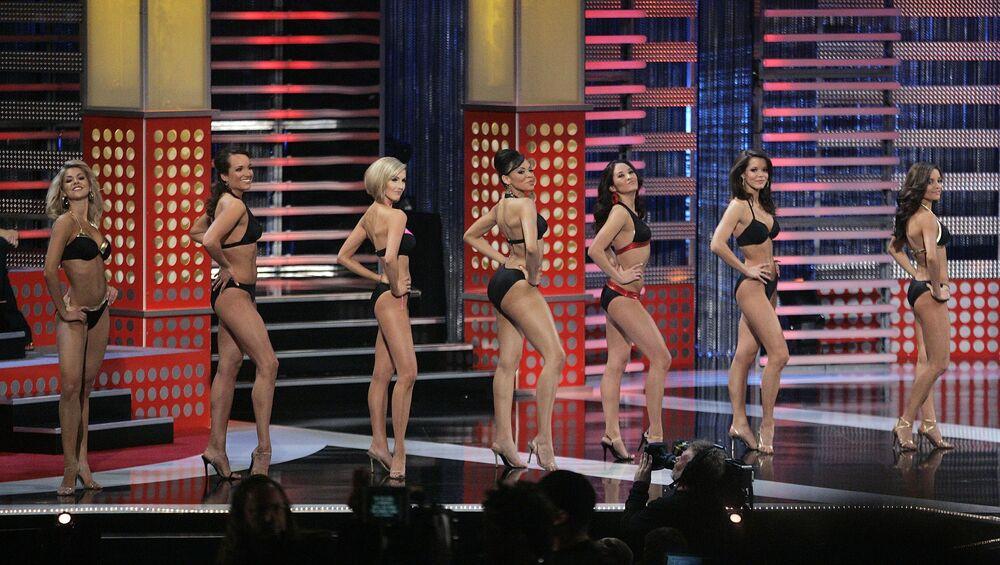 Finalistas do concurso Miss América em 2008