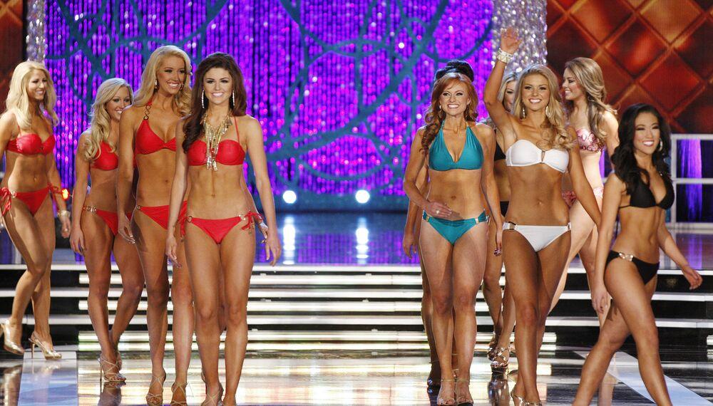 Participantes do concurso Miss América em 2013