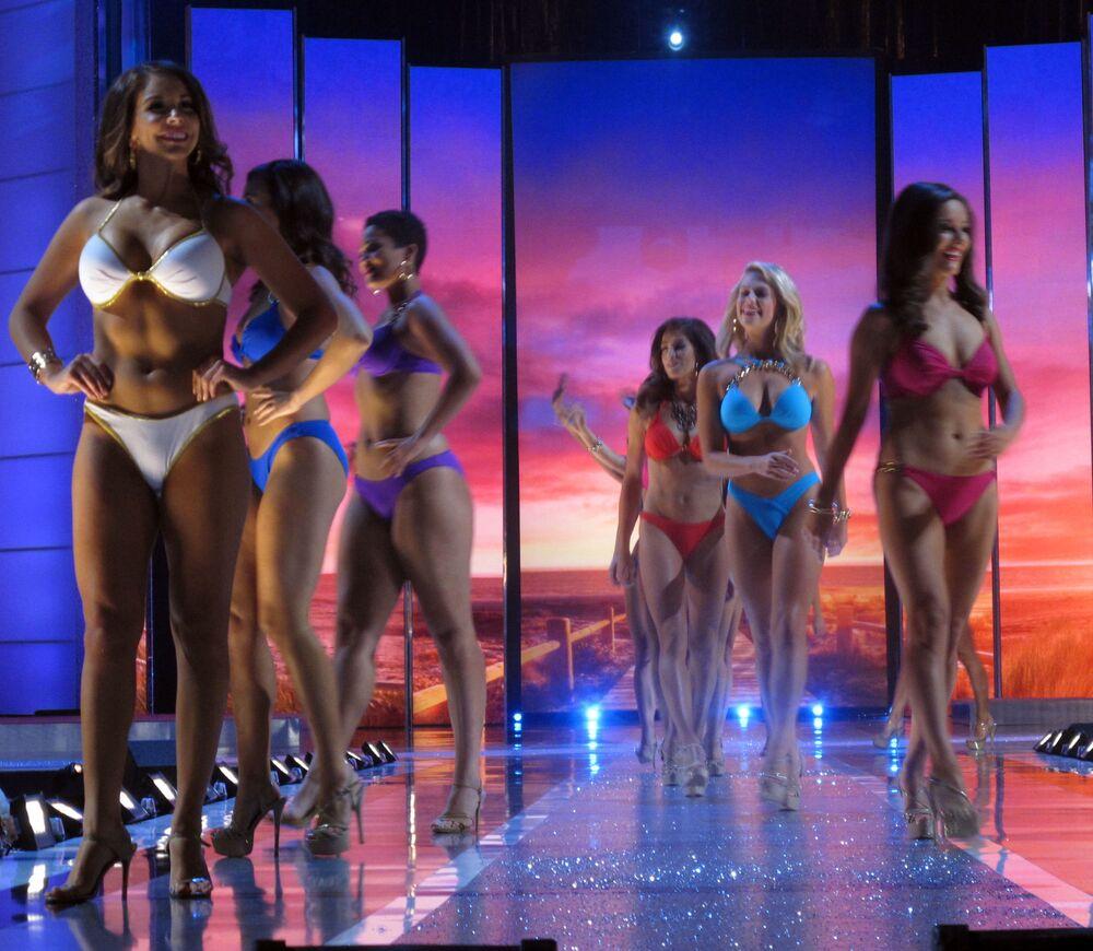 Participantes do concurso Miss América em 2015