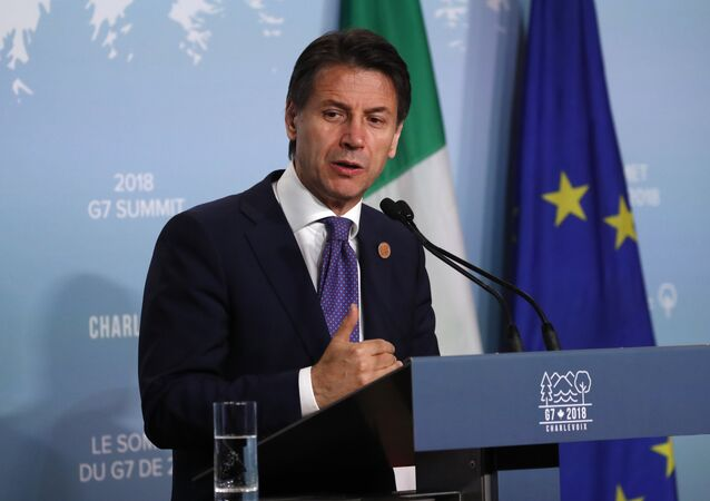 Giuseppe Conte, primeiro-ministro da Itália