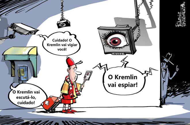 Paranoia do FBI só tem olhos para o Kremlin