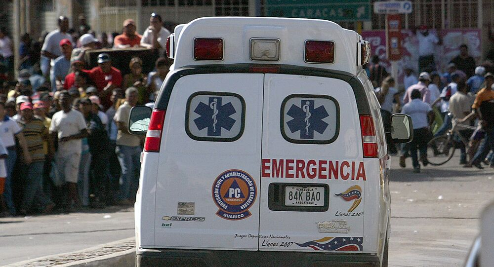 Ambulance in Venezuela (File)