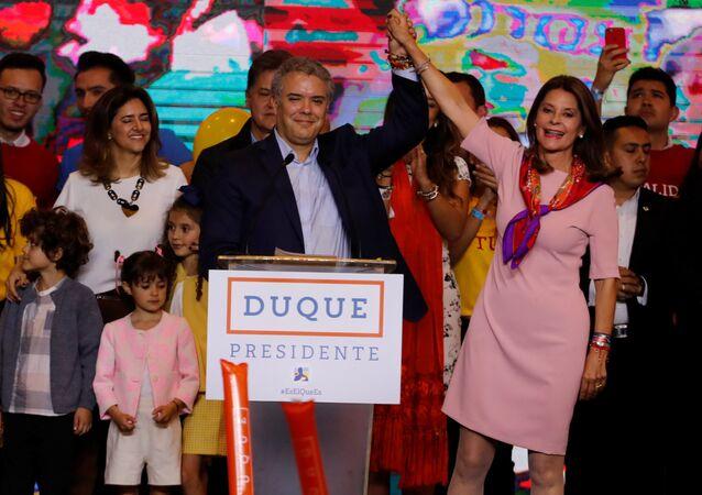 Iván Duque, eleito novo presidente da Colômbia pelo Centro Democrático