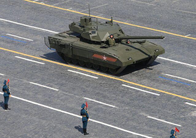 O tanque de combate Armata