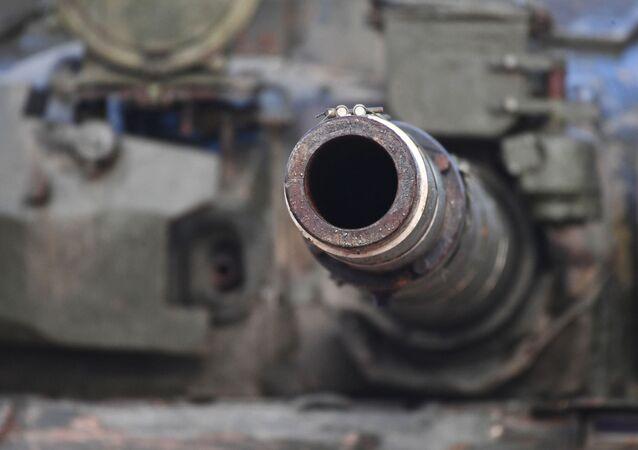 Canhão de um tanque (imagem referencial)