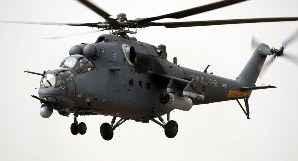 Helicóptero de combate Mi-35M