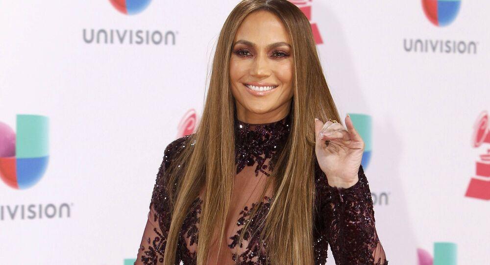 Cantora e atriz Jennifer Lopez