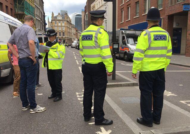 Policiais britânicos