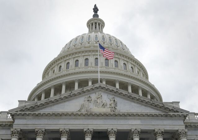 Prédio do Congresso dos EUA em Washington