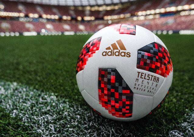 Telstar Mechta, a bola da fase de mata-mata da Copa do Mundo de 2018.