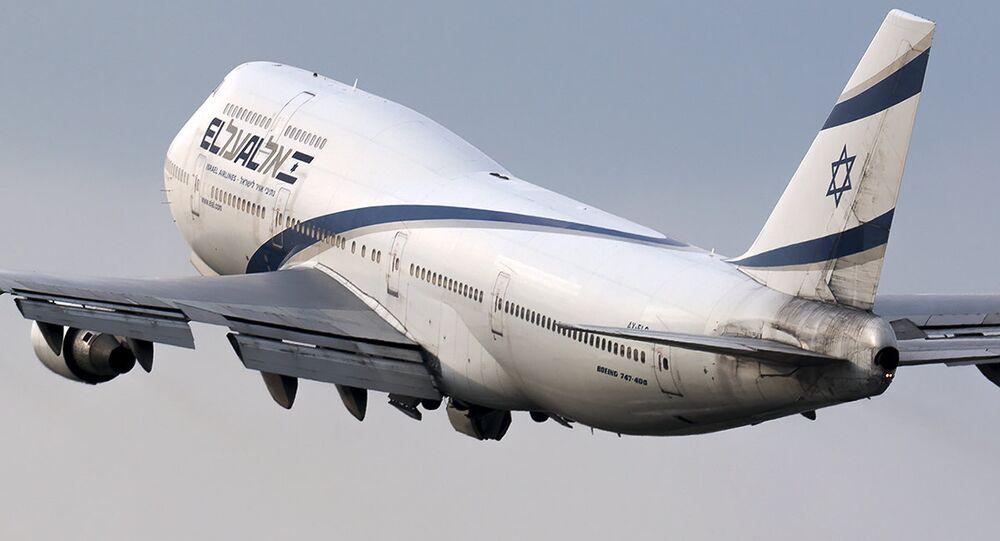 Boeing-747-400 da El Al, companhia aérea nacional de Israel