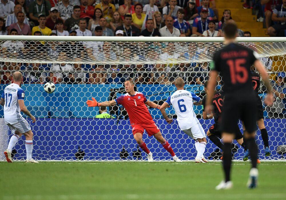 Croácia x Islândia em Rostov-no-Don, pela última rodada do grupo D do Mundial