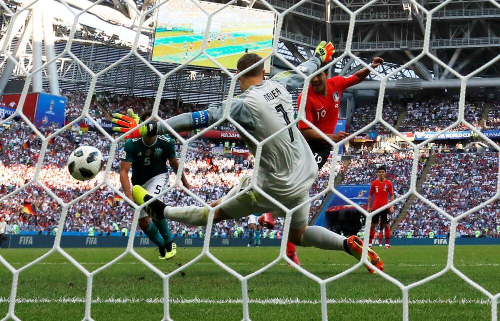 Coreia do Sul faz 2x0 na Alemanha e elimina atuais campeões da Copa do Mundo da Rússia