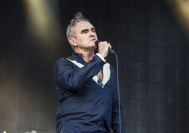 Morrissey se apresenta durante o Firefly Music Festival em Dover (Arquivo)