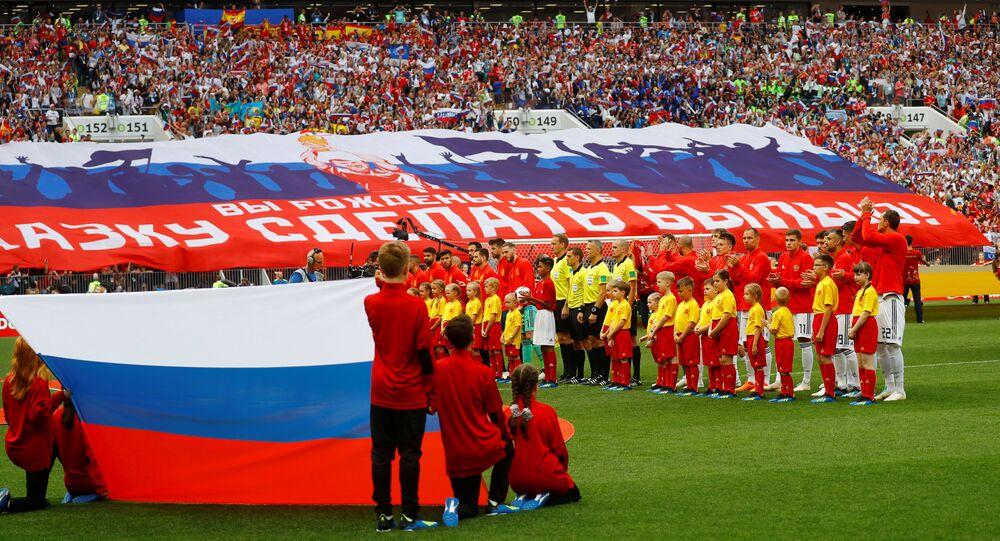 Rússia e Espanha se enfrentam pelas oitavas de final na Copa do Mundo Rússia 2018