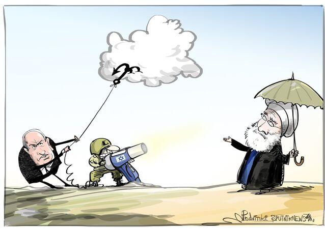 Quando a situação no Oriente Médio é tão quente que no Irã nem chove