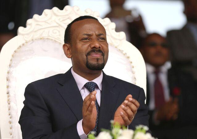 O primeiro-ministro da Etiópia, Abiy Ahmed.