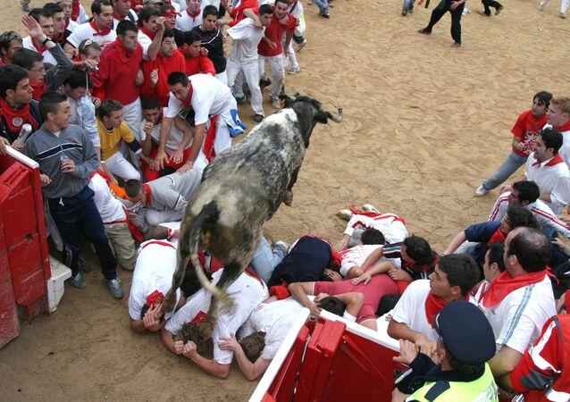 Festival de Pamplona (foto de arquivo)