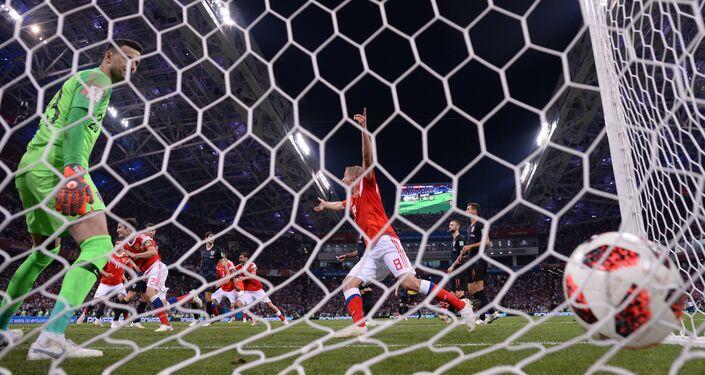Copa do Mundo FIFA 2018 - quartas de final, Rússia - Croácia.