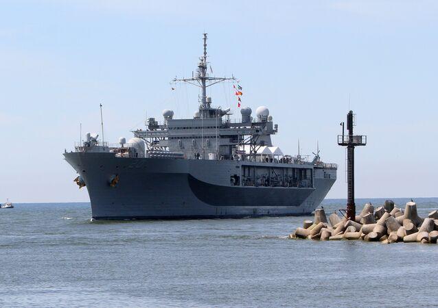 Navio de comando da Sexta Frota dos EUA, Mount Whitney