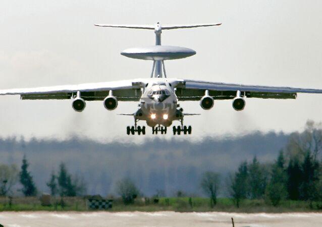 Avião-radar russo A-50 (Imagem referencial)